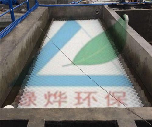 聚丙烯斜管应用——新兴金属废水处理项目