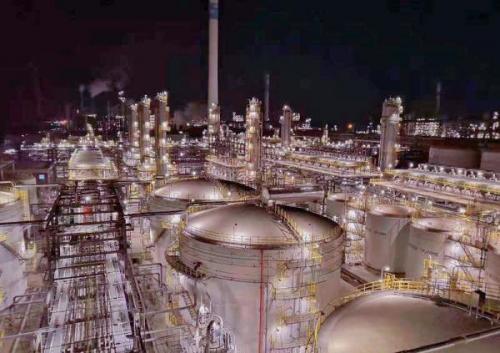 五建承建大连恒力硫磺回收联合装置 工艺流程全线打通