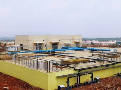中国中药云南滇中新区产业园污水处理项目顺利实施