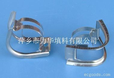金属矩鞍环