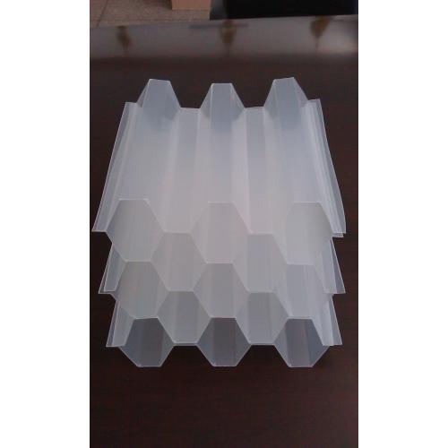 乙丙共聚斜管填料、PP斜管填料、玻璃钢斜管填料