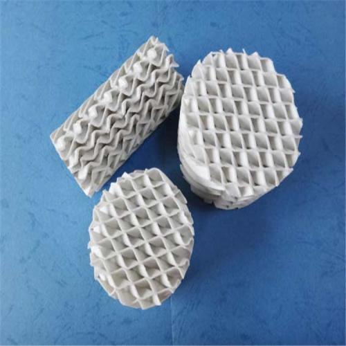 陶瓷波纹填料 波纹板填料 陶瓷规整填料