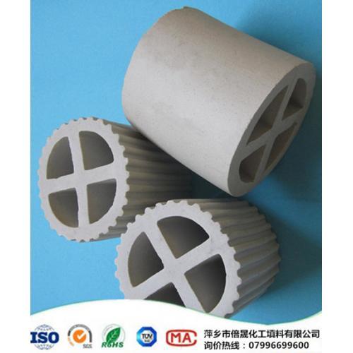 耐酸 耐碱 耐高温 陶瓷填料 陶瓷十字环 隔板填料