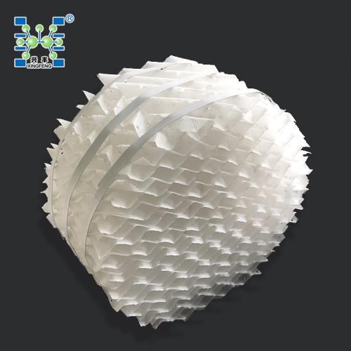 萍乡兴丰厂家直销PP塑料规整填料250y精馏塔专用填料 波纹板填料