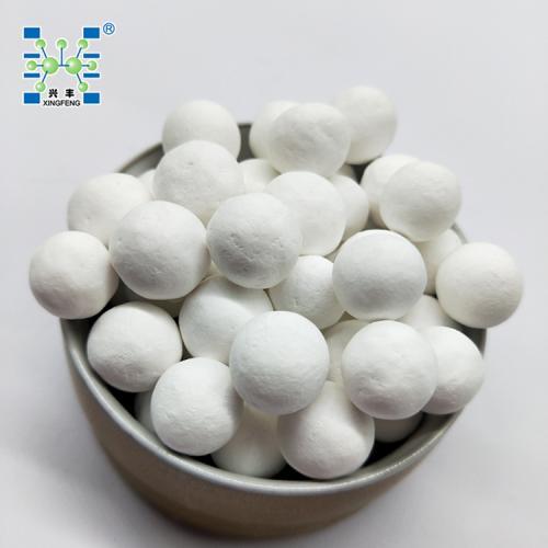 萍乡兴丰 厂家直销93%活性氧化铝球(除氟、干燥、空分吸附剂)工业气体干燥