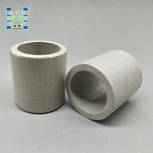 陶瓷拉西环50mm 陶瓷拉西环填料 瓷质拉西环 陶瓷填料