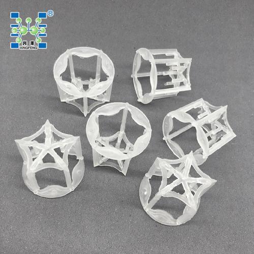 萍乡兴丰销售现货供应塑料五角环填料 塑料填料 PP五角环
