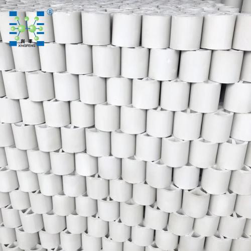 150mm 陶瓷十字隔板环填料296只/立方 陶瓷填料