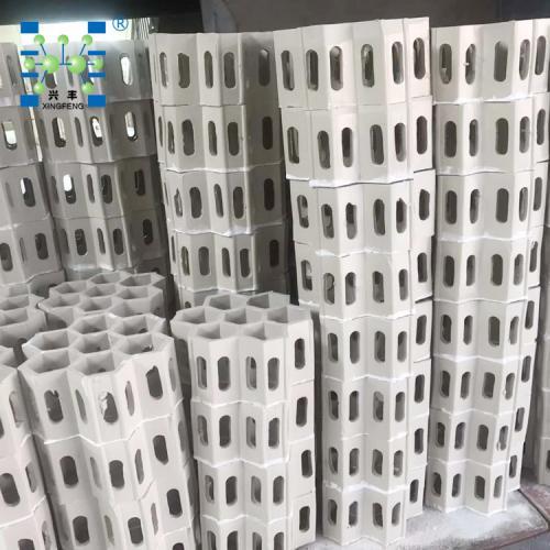 多孔陶瓷连环 陶瓷连环规整填料 陶瓷组合连环填料 陶瓷填料