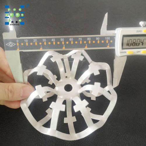 厂家现货 108mm铝合金泰勒花环填料 金属填料