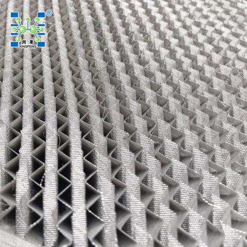 316丝网波纹规整填料500BX不锈钢丝网波纹填料 金属填料