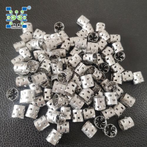 直径10mm 厚度0.3mm 316L鲍尔环填料 金属填料